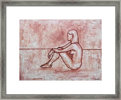 Nude 26 Framed Print by Patrick J Murphy