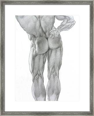 Nude 2b Framed Print by Valeriy Mavlo