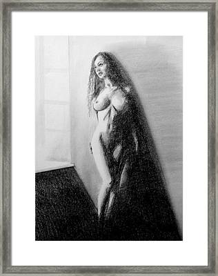 Nude 3 Framed Print