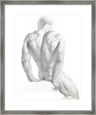 Nude 3 Framed Print by Valeriy Mavlo