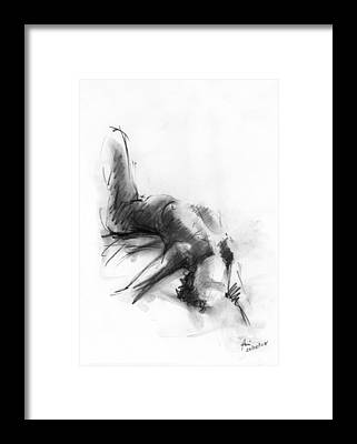 Art Nudes Framed Prints