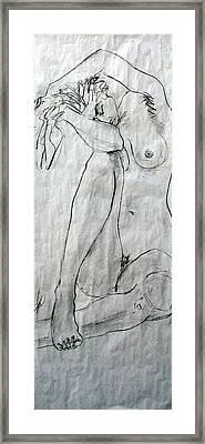 Nude 4749 Framed Print