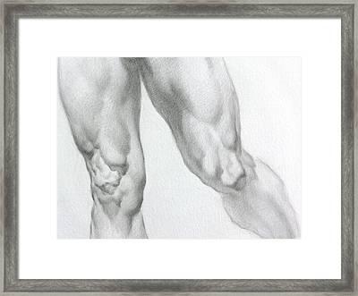 Nude 5c Framed Print by Valeriy Mavlo