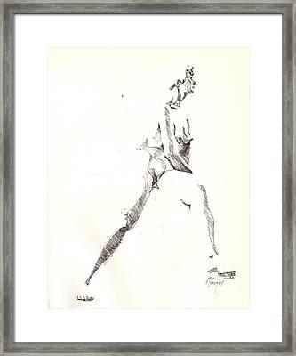 Nude 6 Framed Print