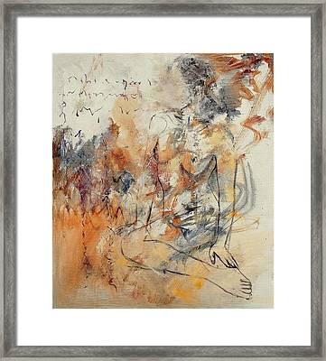 Nude 679070 Framed Print by Pol Ledent