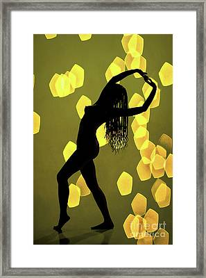 Nude African Woman 1728.124 Framed Print