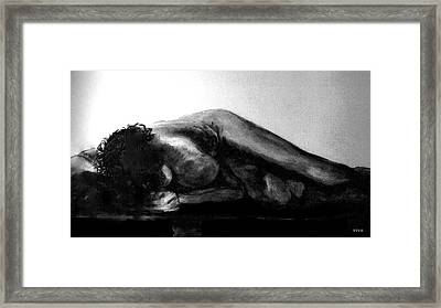 Nude As Landscape Framed Print