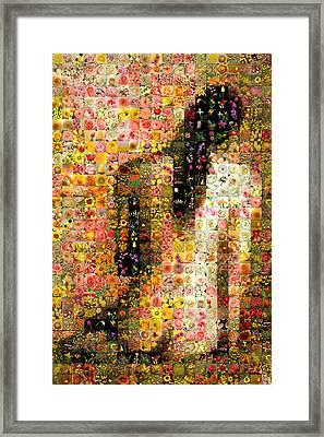 Nude Back Framed Print by Gilberto Viciedo