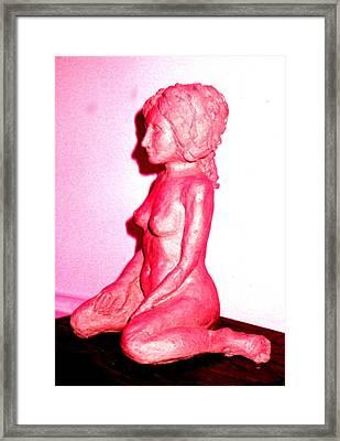 Nude Framed Print by Bethwyn Mills