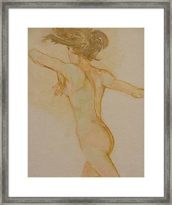 Nude Dancer Framed Print by Gary Kaemmer