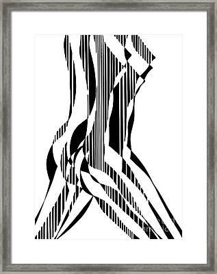 Nude Figure Framed Print
