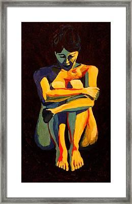 Nude Pose 2 Framed Print