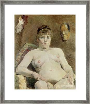 Nude Woman, 1884 Framed Print