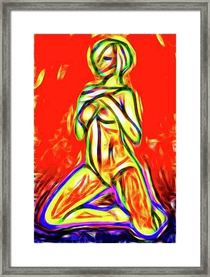 Nude Xxix Framed Print