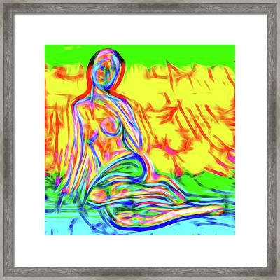 Nude Xxviii Framed Print