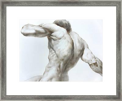 Nude1c Framed Print by Valeriy Mavlo