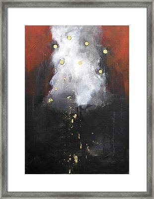 Nugget Of Gold Framed Print by Cecilia August Sand