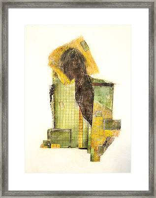 Framed Print featuring the painting Numb by Geraldine Gracia