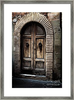 Number 13 Framed Print
