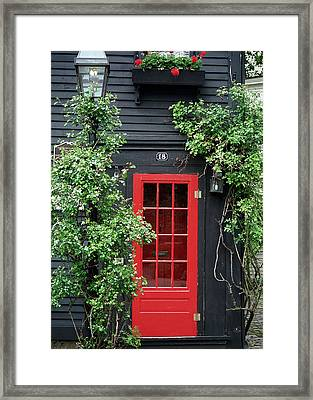 Framed Print featuring the photograph Number 18 by Kenneth Campbell