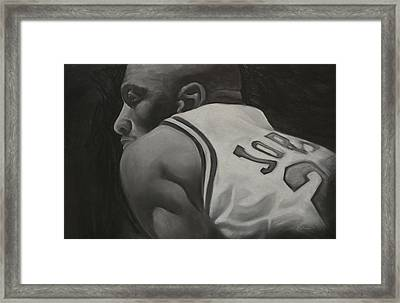 Number 23 Framed Print by Adrian Pickett Jr