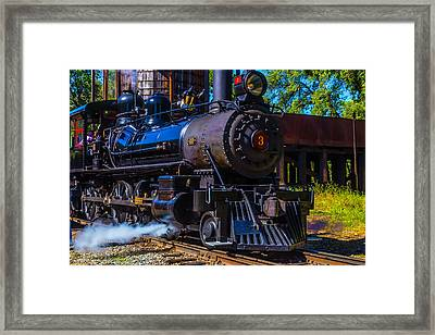 Number 3 Letting Off Steam Framed Print by Garry Gay