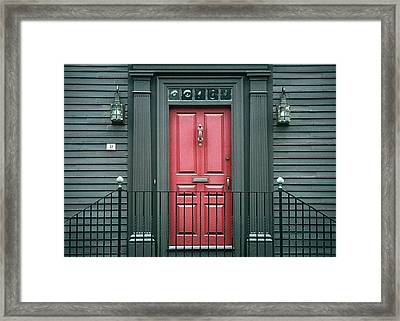 Framed Print featuring the photograph Number 31 by Kenneth Campbell