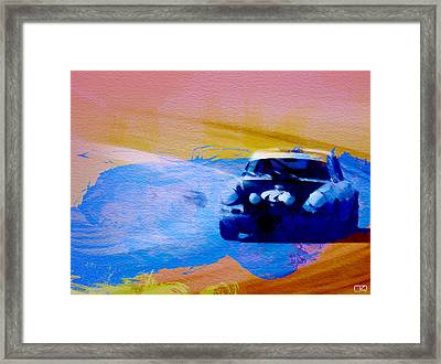 Number 49 Porshce Framed Print by Naxart Studio