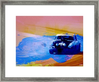 Number 49 Porshce Framed Print