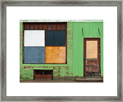 Number 60 In The Rain Framed Print by Royce Howland
