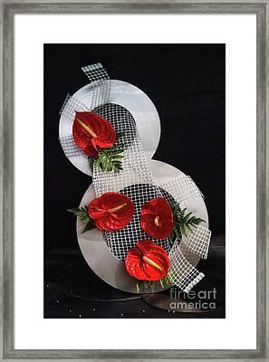 Number 8 Framed Print by Stephan Grixti