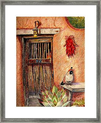 Number 82 Framed Print by Marilyn Smith