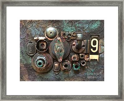Number 9 Framed Print