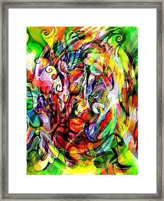 Organized Chaos Framed Print by Debbie Hall