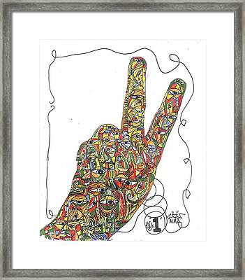 Number One Framed Print