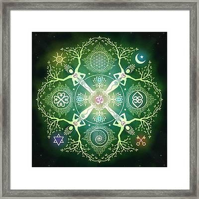 Numinosity Mandala Framed Print