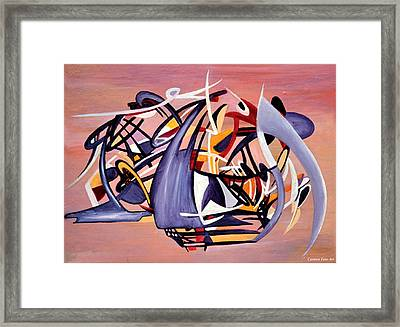 Nun Desiring The Artist Framed Print