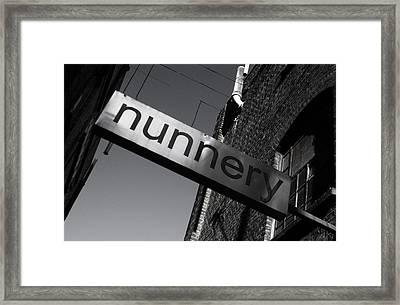 Nunnery 1 Framed Print by Jez C Self