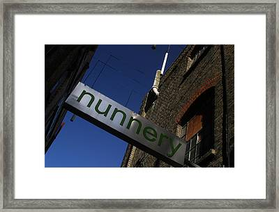 Nunnery 2 Framed Print by Jez C Self