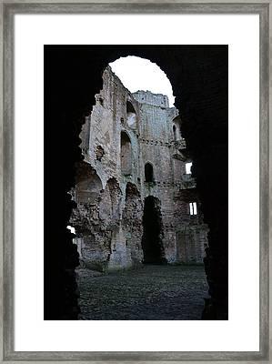 Nunney Castle Framed Print