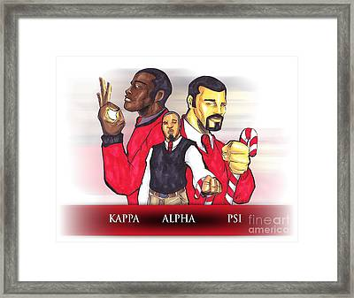 Nupes R' Us Framed Print by Tu-Kwon Thomas