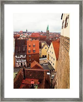 Nuremberg Cityscape Framed Print