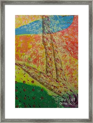 Nurture Framed Print by Mini Arora