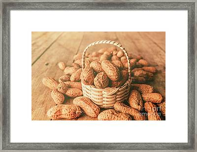 Nut Basket Case Framed Print