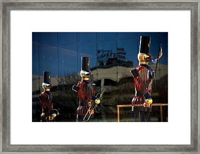 Nutcracker Soldiers 2 Framed Print by Steve Ohlsen