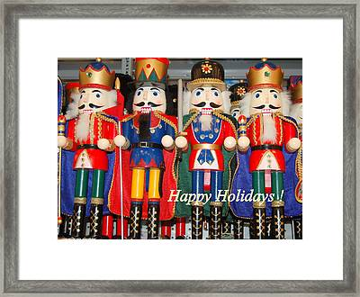 Nutcrackers Framed Print