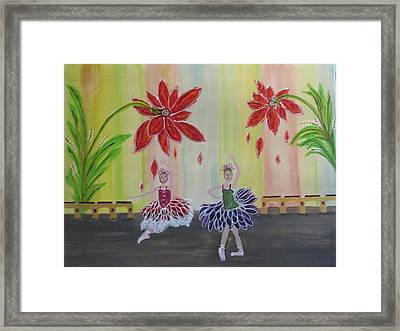 Nutcrackers Waltz Of The Flowers Framed Print