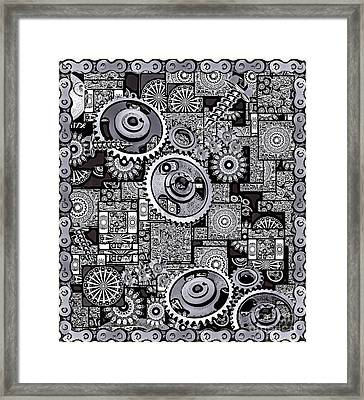 Nuts And Bolts Framed Print