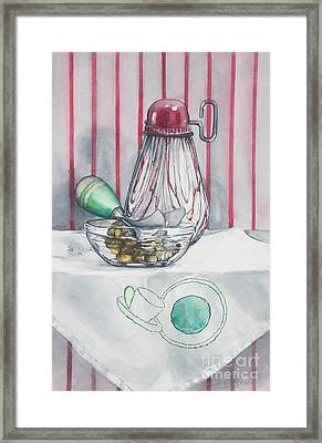 Nuts Framed Print