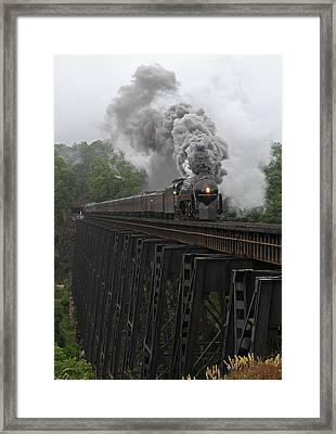 Nw 611 At Lynchburg Framed Print by Jonathan McCoy